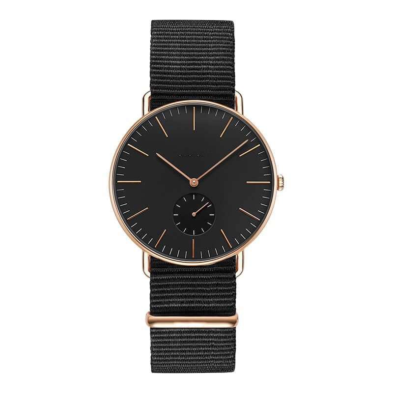 mens watches all black