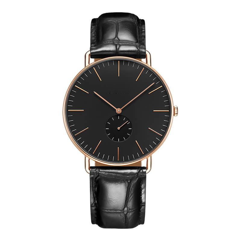 GM-7007 Mens Watches All Black Custom Your LOGO