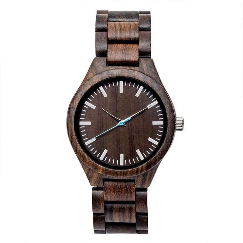 GW-7008 Bamboo Wood Watch Custom LOGO