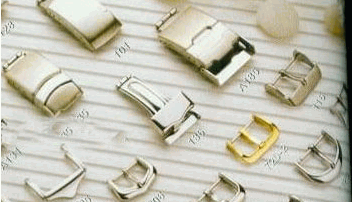 Clasp of different type for a watch