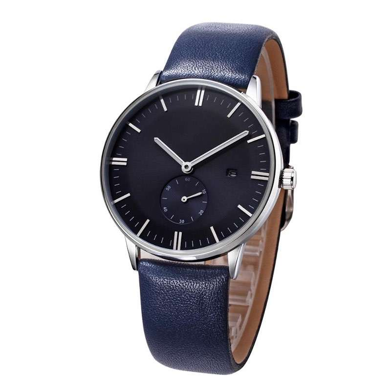 GM-7020 Classic Leather Watch Custom Changable Strap