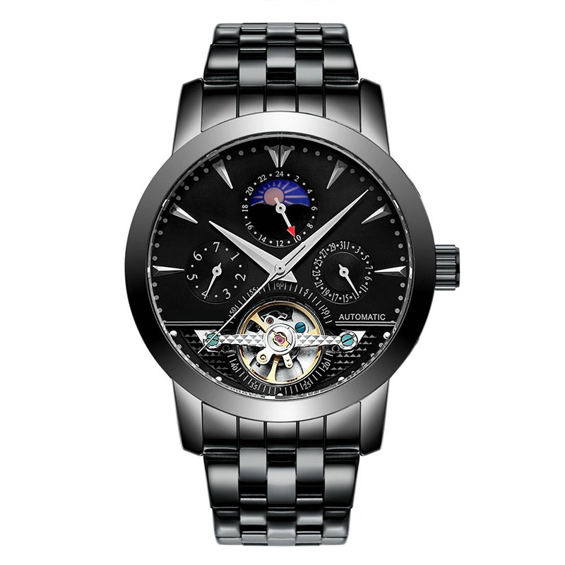 GM-7035 Skeleton Automatic Mechanical Watch For Men