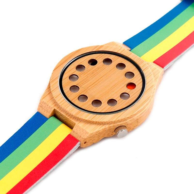 Nylon Strap Wood Watches