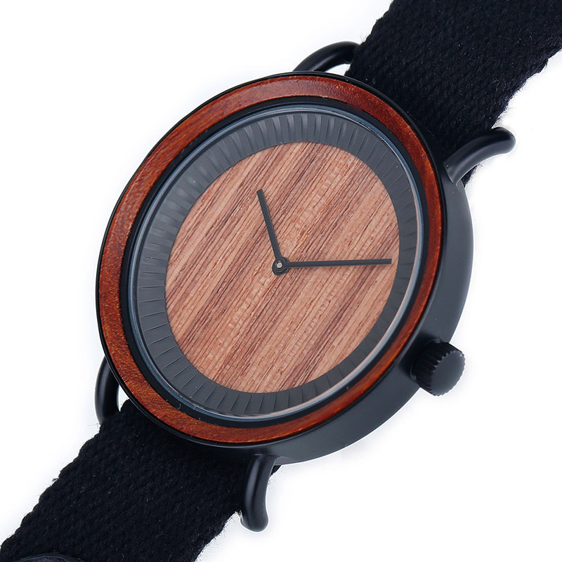 Steel+ Wooden Watches GM-7015 Customize Watches For Quality Brand Company