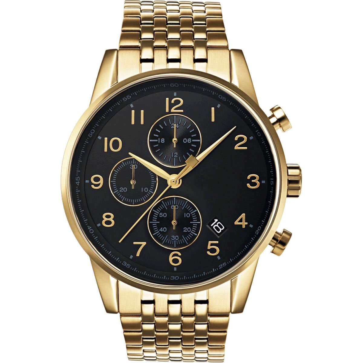 Chronograph Watch Men CM-8024 Customize Watch Top One Watch Manufacturer of Chronograph China