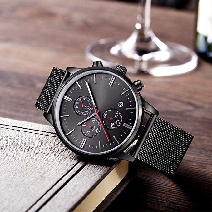 Chronograph Watch Men CM-8027 Customize Watch Top One Watch Manufacturer of Chronograph China