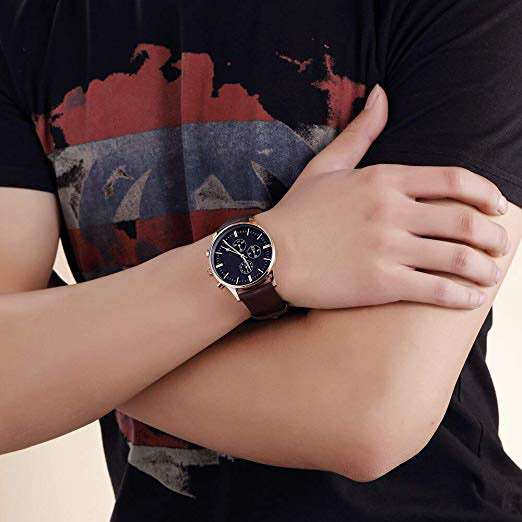 Chronograph Watch Men CM-8029 Customize Watch Top One Watch Manufacturer of Chronograph China