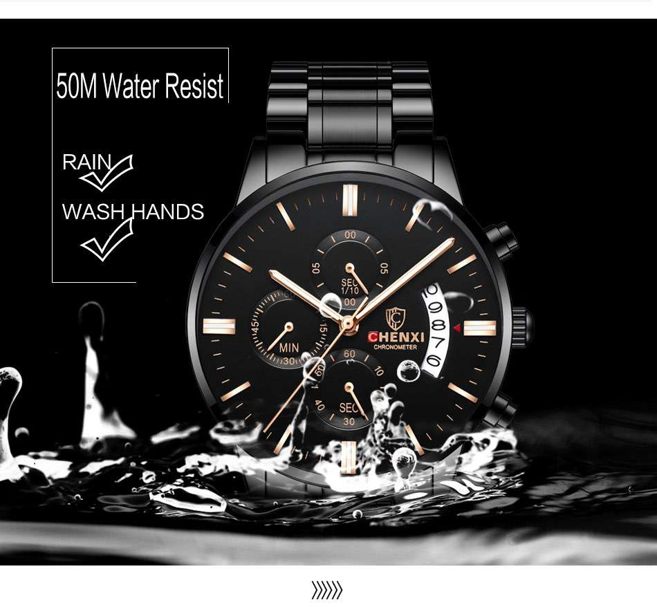 Chronograph Watch For Men CM-8030 Customize Watch Top One Watch Manufacturer In China