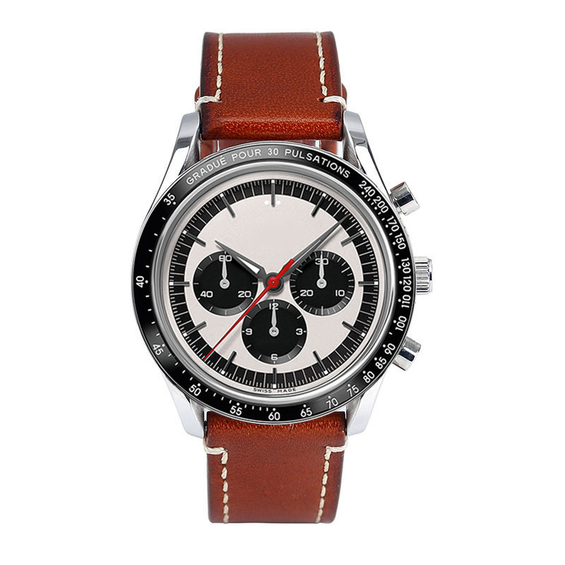 Custom Chronograph Watches for Men CM-8007  Chinese OEM ODM Watches Factory