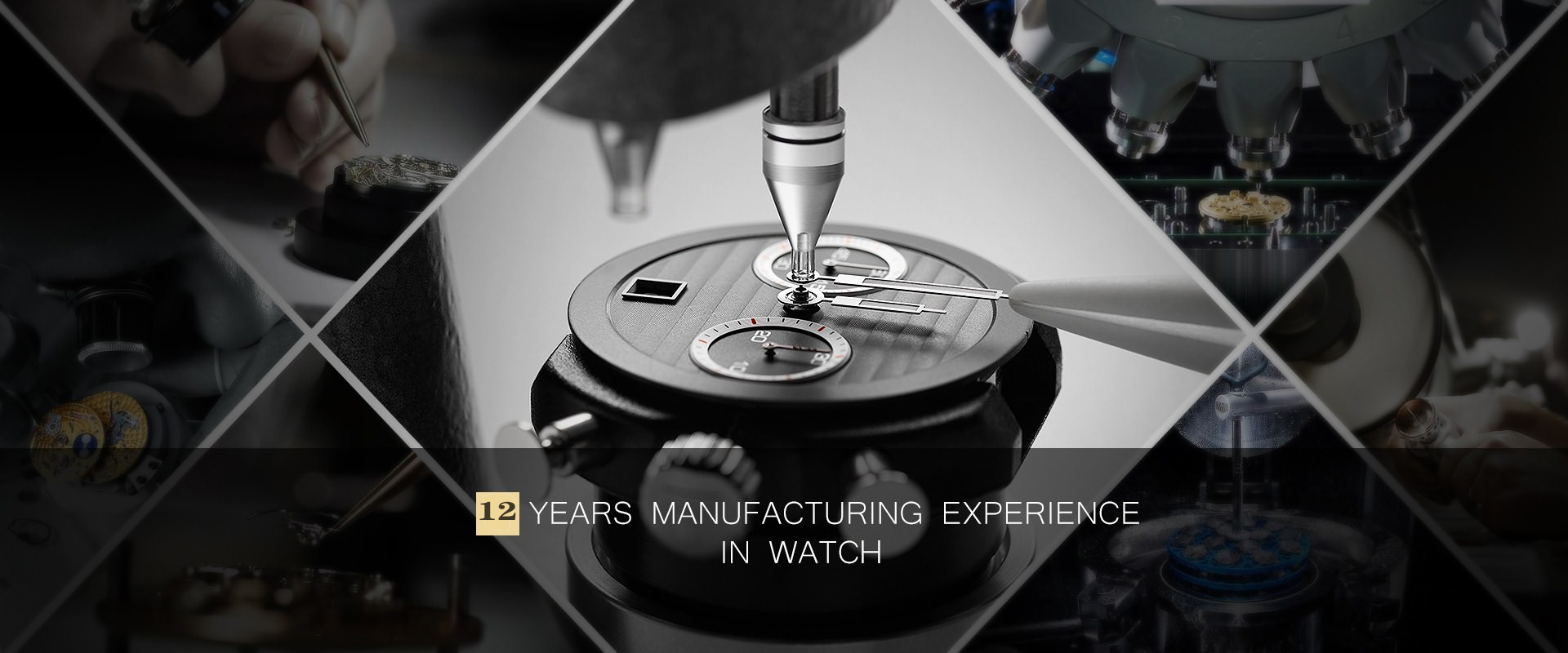 12 years watch supplier