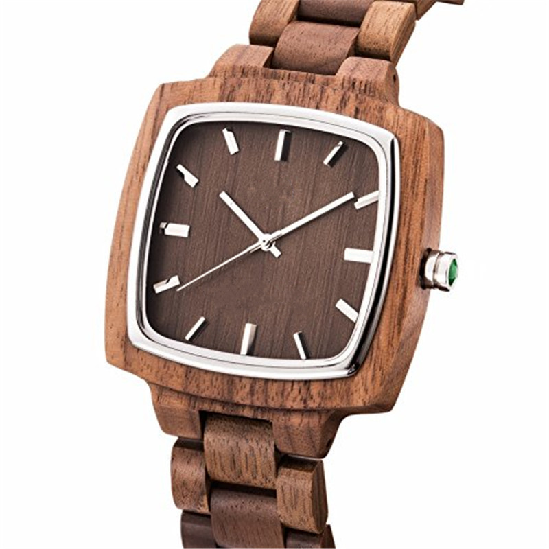 Top 5 Wooden Watch Suppliers China GW-8002 Custom All Kinds Of Wood Watches From Giant Watch Factory
