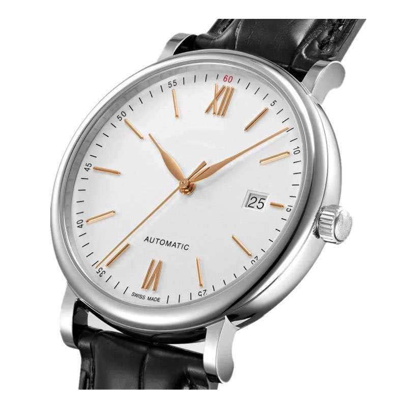 GM-1110 Mechanical Simple Style Watch For Men