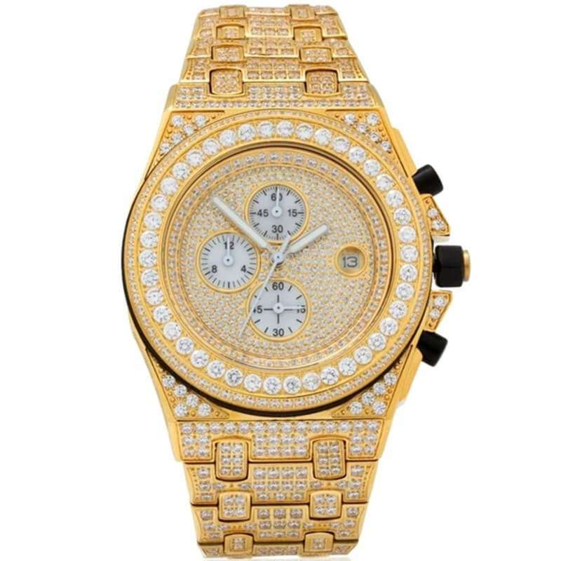 GM-9013 Iced watch Luxury for both man and women
