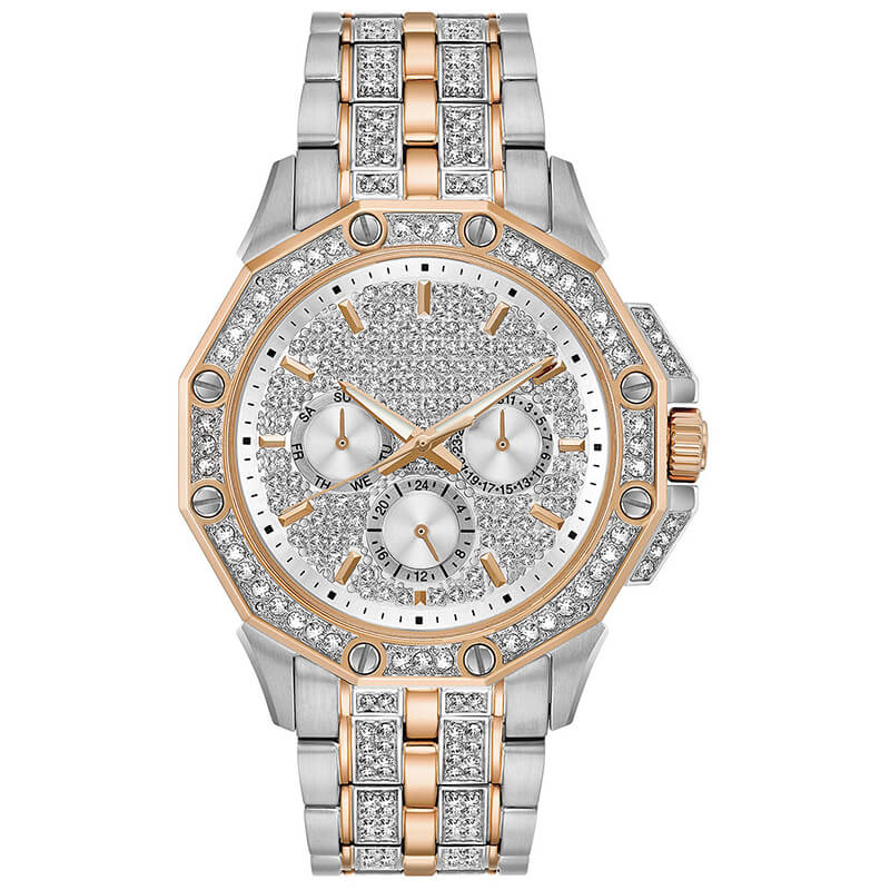 GM-9020 Iced watch Luxury for man custom logo