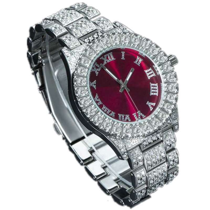 GM-9021 Iced watch Luxury for both gender