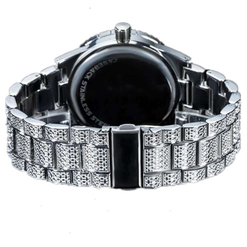 GM-9023 Iced watch Luxury for both gender