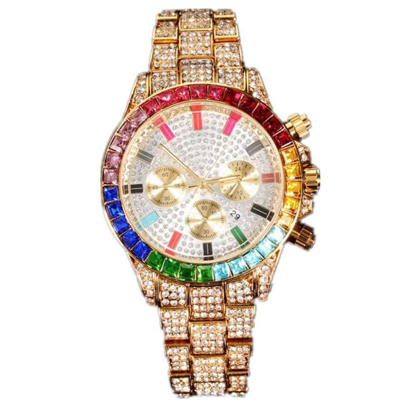 GM-9022 Iced watch Luxury for both gender