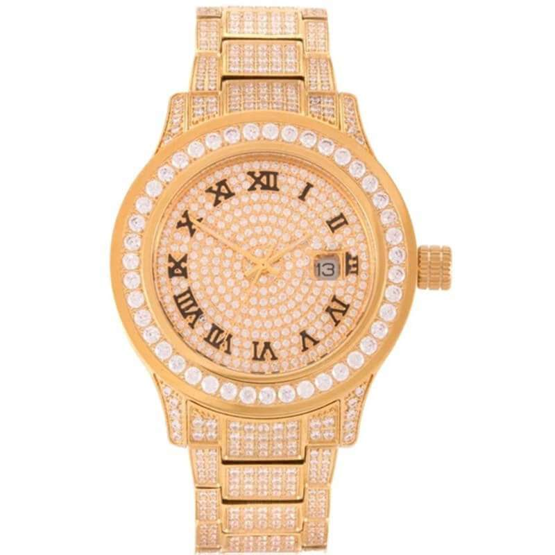GM-9014 Iced watch Luxury Simplicity for women