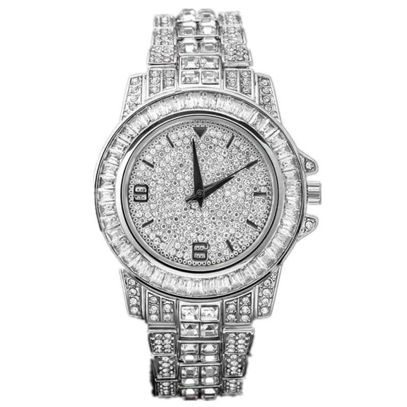 GM-9015 Iced watch Luxury for men