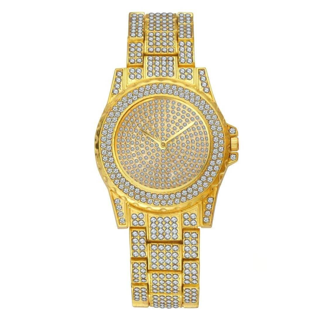 GM-9016 Iced watch Luxury for men