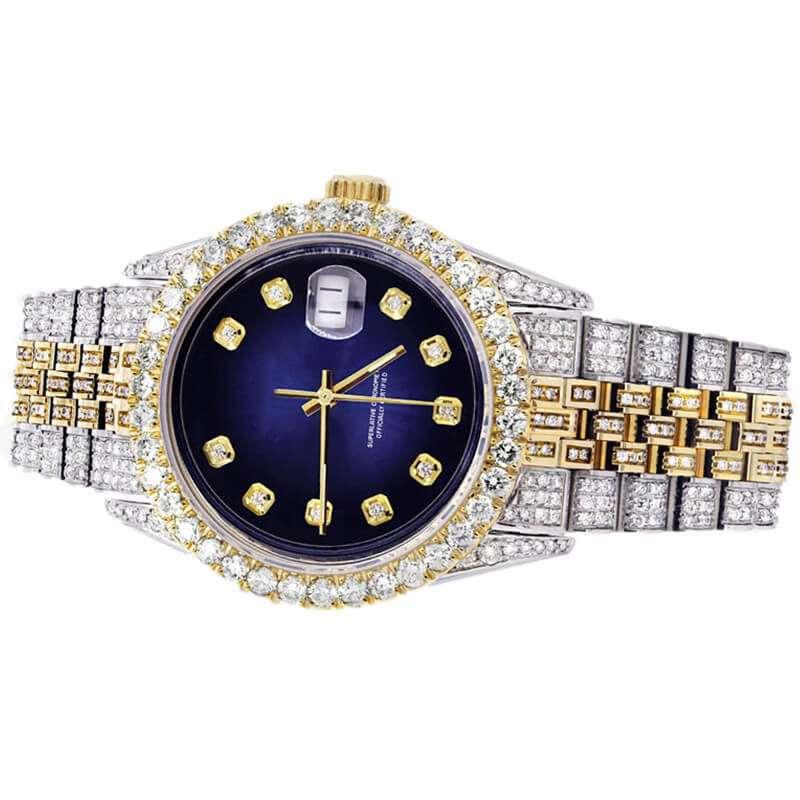 GM-9017 Iced watch Luxury for men custom logo