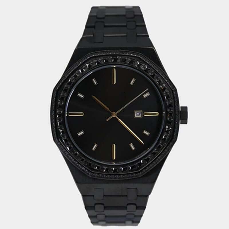 GM-9018 Iced watch Luxury Simplicity for men custom logo