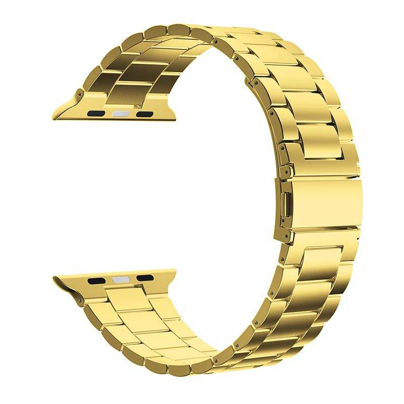 Hot Sale Solid Stainless Steel Apple Watch Metal Strap Replacement Bracelet For iWatch Series