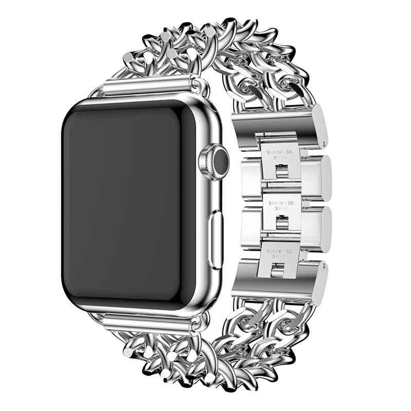 Wholesale Elegant Watch Bracelet Iwatch With Metal Strap Fashionable Design Stainless Steel Watch Strap