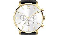 Mens' fashion chronograph watch