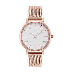 GF-7022 Luxury Style Simple Stainless Steel Women Fashion Hand Watch Custom Watch