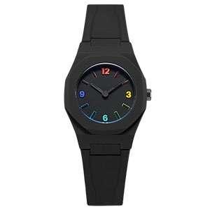 GM-8009 Multicolor Indexes Black Watch Mens Custom Logo Men Watches Minimalist Men Hand Watches