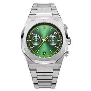 CM-8037 Custom Private Label Stainless Steel Luxury Wrist Watches Custom Logo Men Chronograph Quartz Watch