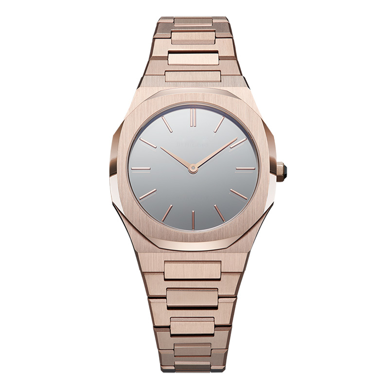 GF-7045 Rose Gold Stainless Steel Women Watch Elegant Lady Watch Custom Watch Manufacturers China