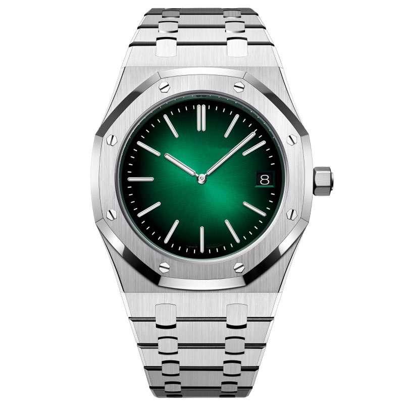 GM-8018 Watch Factory Custom New Brand Men Watches With Date Window Dive Dress Men Luxury Wristwatch
