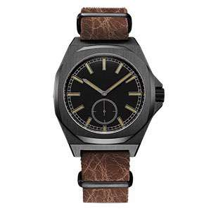 GM-8024 Stylish Wrist Watch for Men High Quality Quartz Watch With Leather Band Watch Custom Manufacturer China