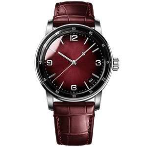 GF-7050 Red Women Watch With Graceful Leather Strap Lady Casual Business Dress Watches Ladies Fashion Gift Custom Logo