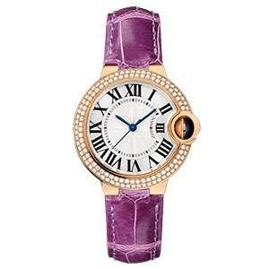 GF-7069 Wholesale Fashion Style Watch For Women Diamond Bezel Rose Gold Color China Good Quartz Watch