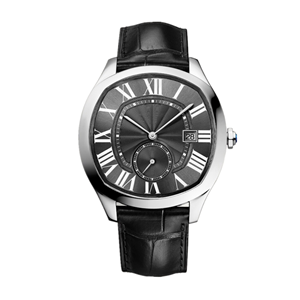 GM-8041 Fashion Watch Stainless Steel Case Black Dial Strap Customize Your Brand Logo China Watch Manufacturer Watch Factory