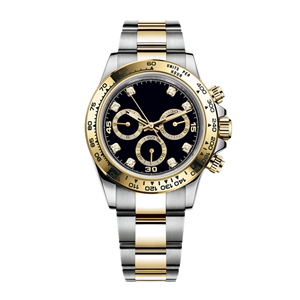 GM-8058 Fashion Watch Fashion Men's High Quality Chronograph Black Gold Luxury Style China Custom Watch Factory