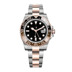 GM-8059 Rose Gold Watch Men's Stainless Steel Rose Gold Case Strap High Quality Waterproof Watch China Customize Your Brand Logo Factory