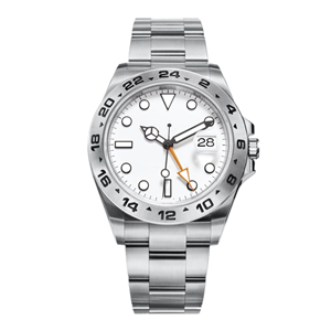 GM-8060 Stainless Steel Watch Men's Waterproof Watch Stainless Steel Round Case Simple Style High Quality Watch Customize Your Brand Watch Maker