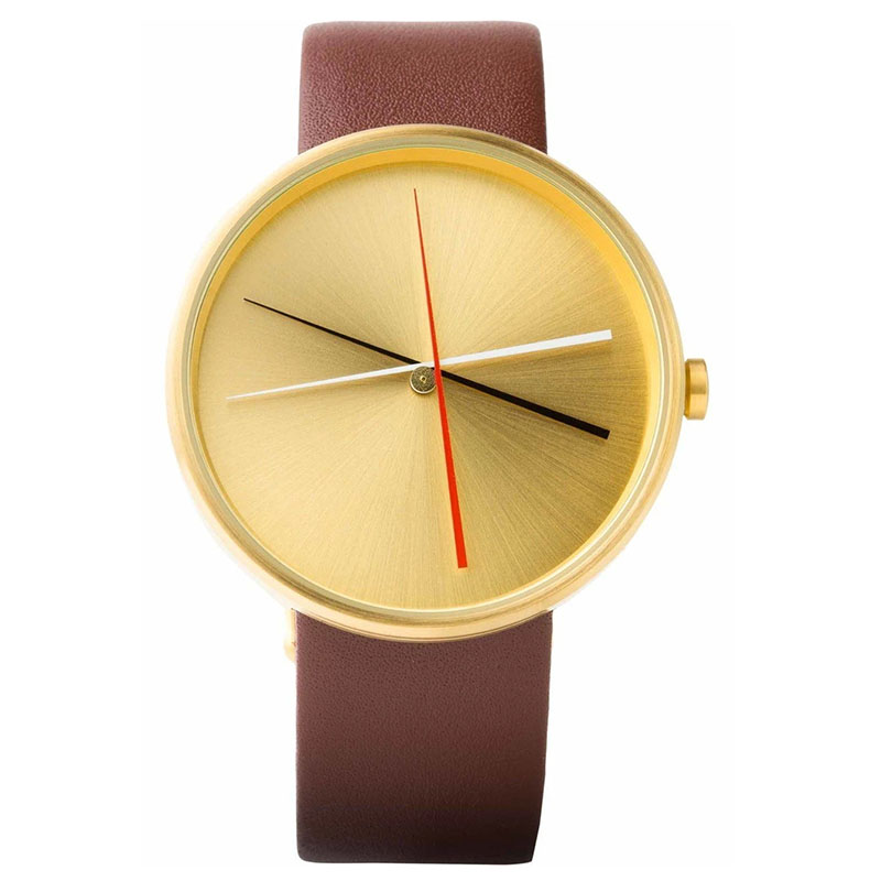 Crossover Brass leather watch  (2)